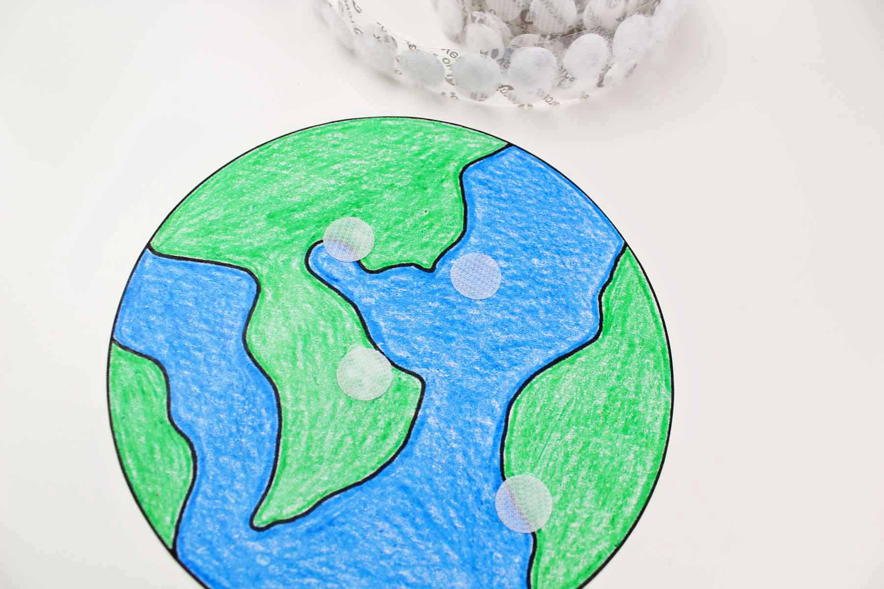 Earth Day Learning Craft How To Make Earth Happy