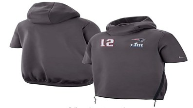 Hoodies for Men, Tom Brady #12 Sweater