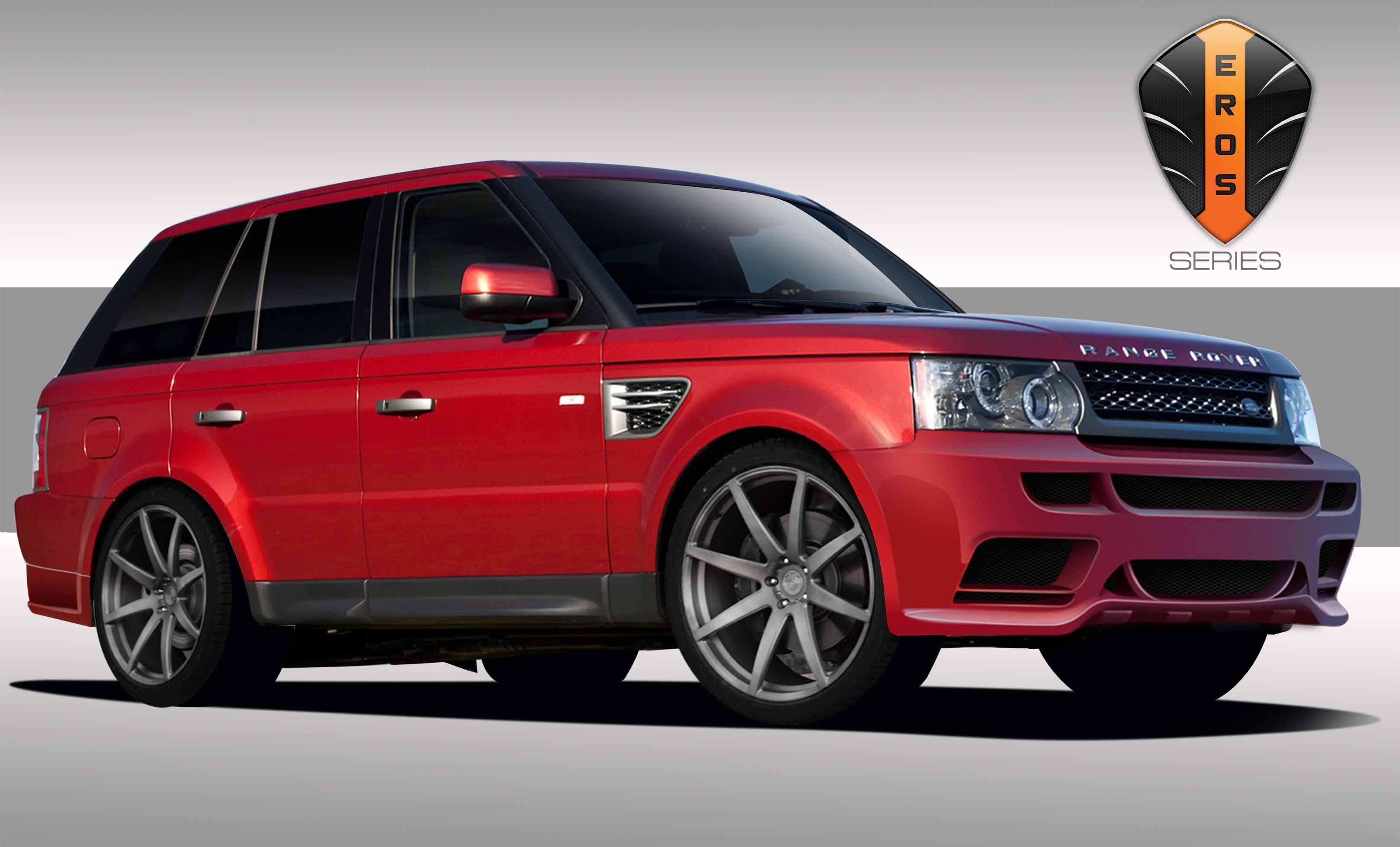 2012 Land Rover Range Rover Sport Fiberglass Body Kit Body Kit