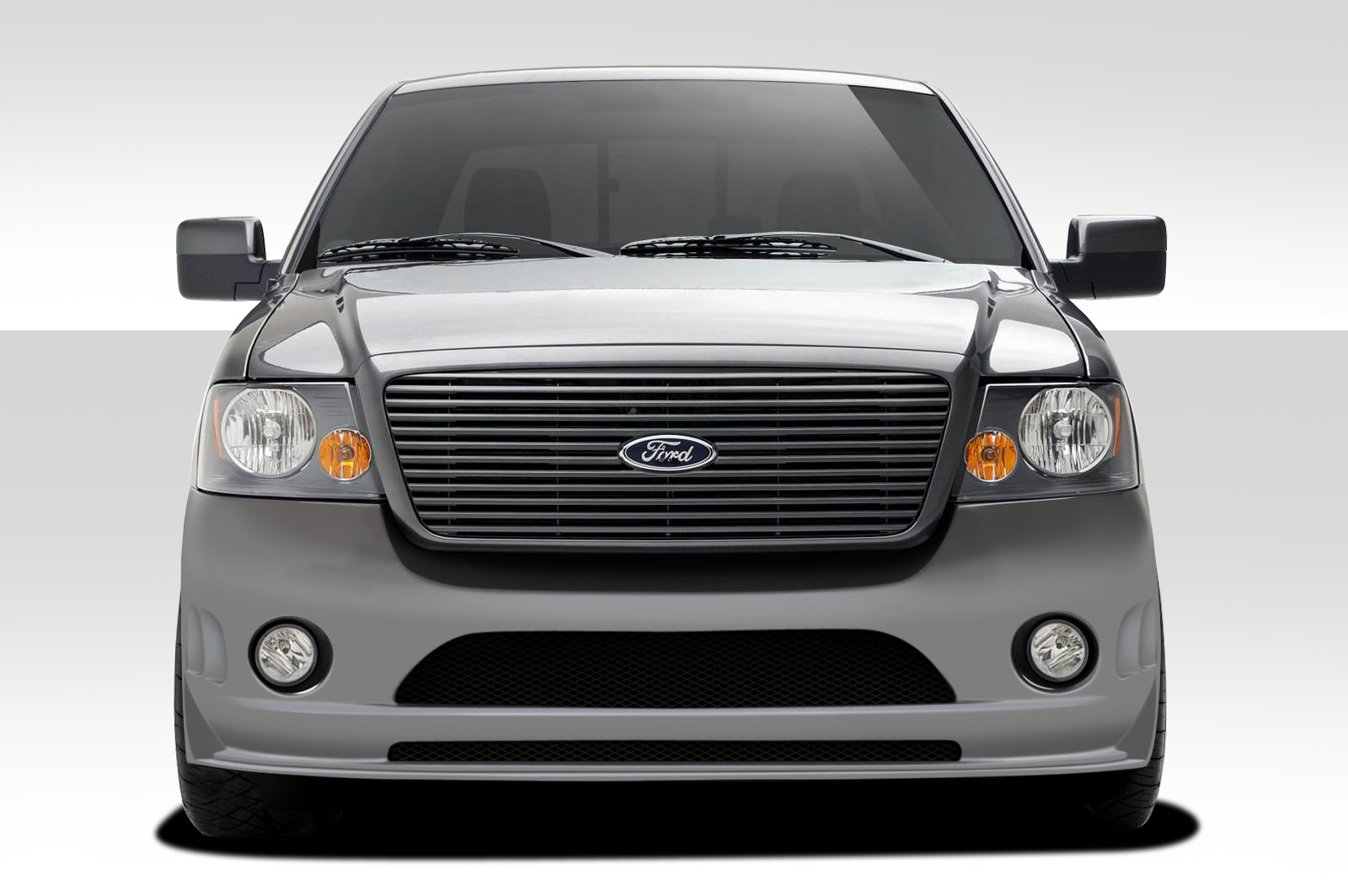 04 08 Ford F150 Bt 2 Duraflex Front Body Kit Bumper