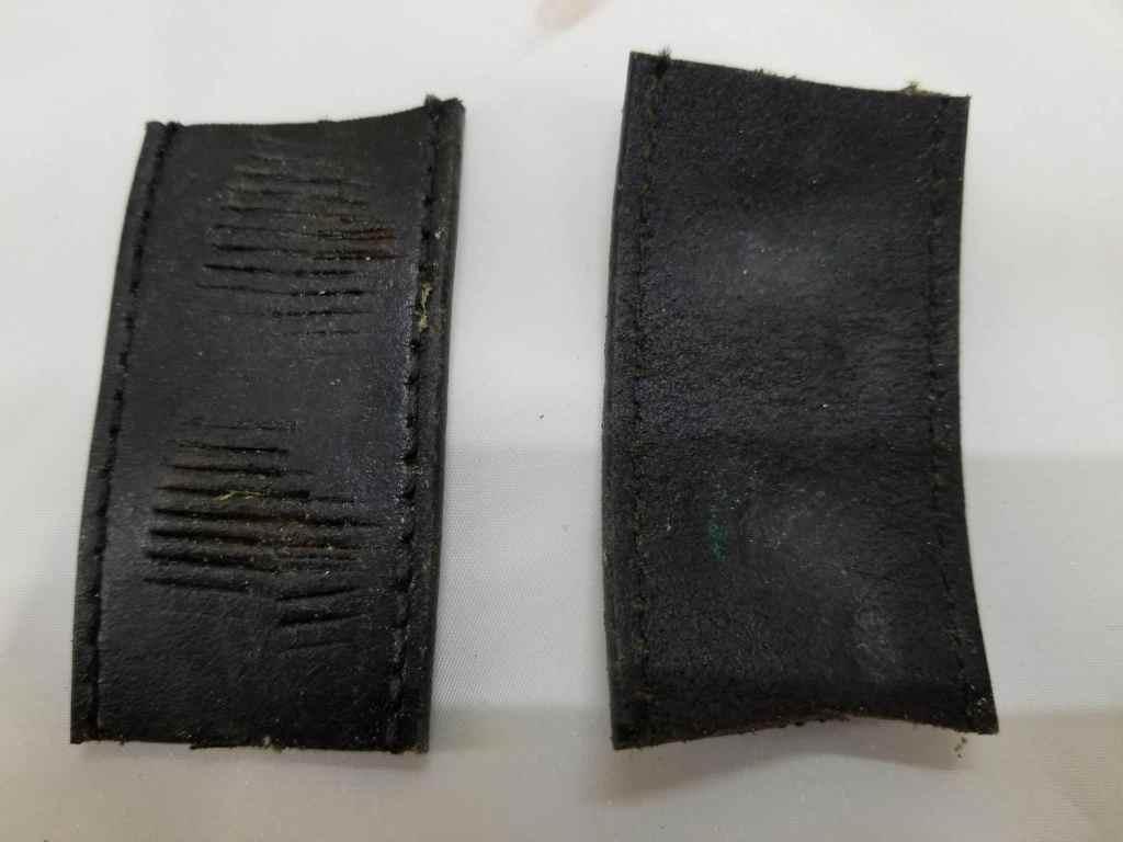 Belt Pieces Wont Mar Brass Pins