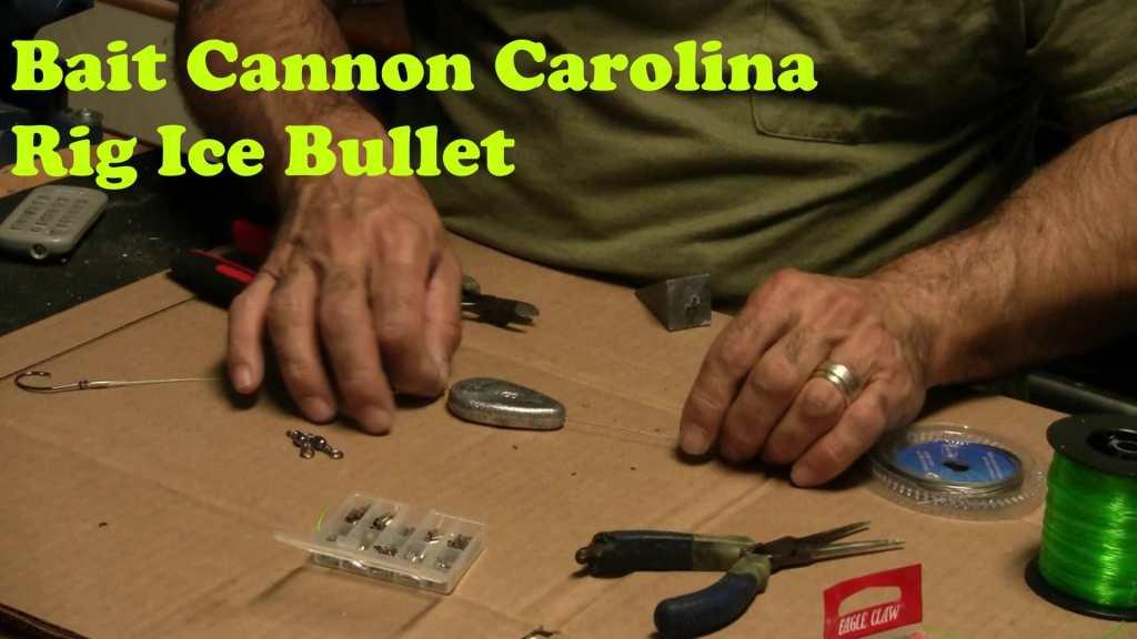 bait caster carolina rig ice bullet