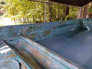 Fairing compound on boston whaler 13