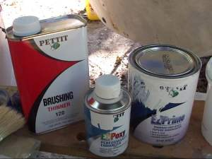 Fiberglass Paint Primer and Additives