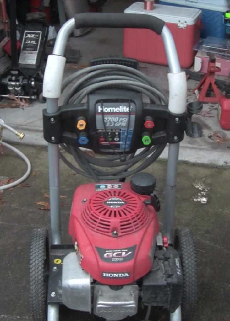 Winterize Pressure Washer Pump