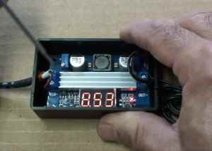 adjusting cannon battery charger voltage
