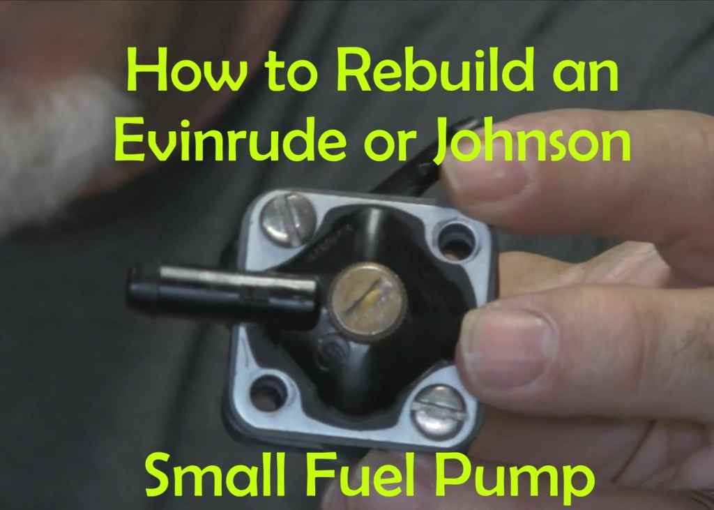 johnson evinrude fuel pump