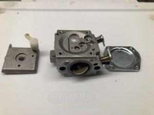 Cleaned Carburetor Parts