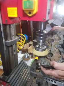 Cleaning Gasket Surface