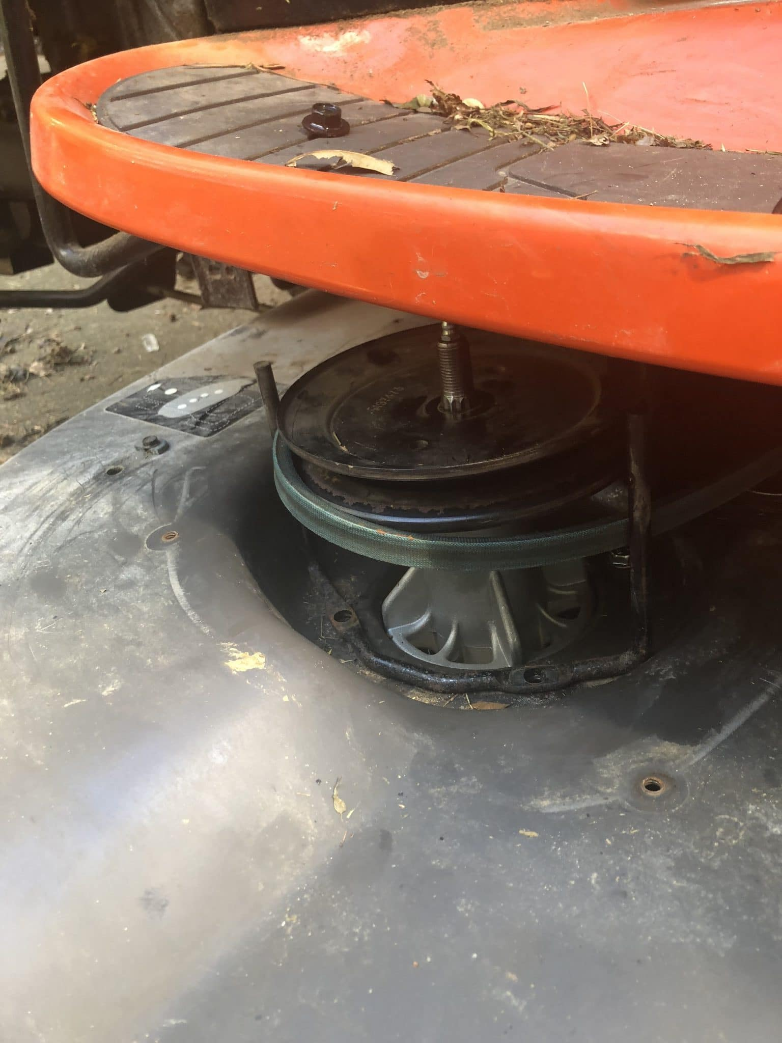 Replacing a Lawn Tractor Spindle and Pulley and Bearing