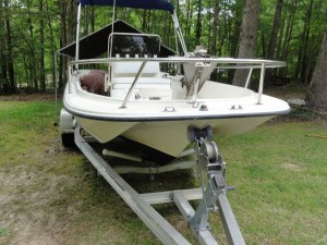 Restored Wahoo 18 Cc Front Starboard