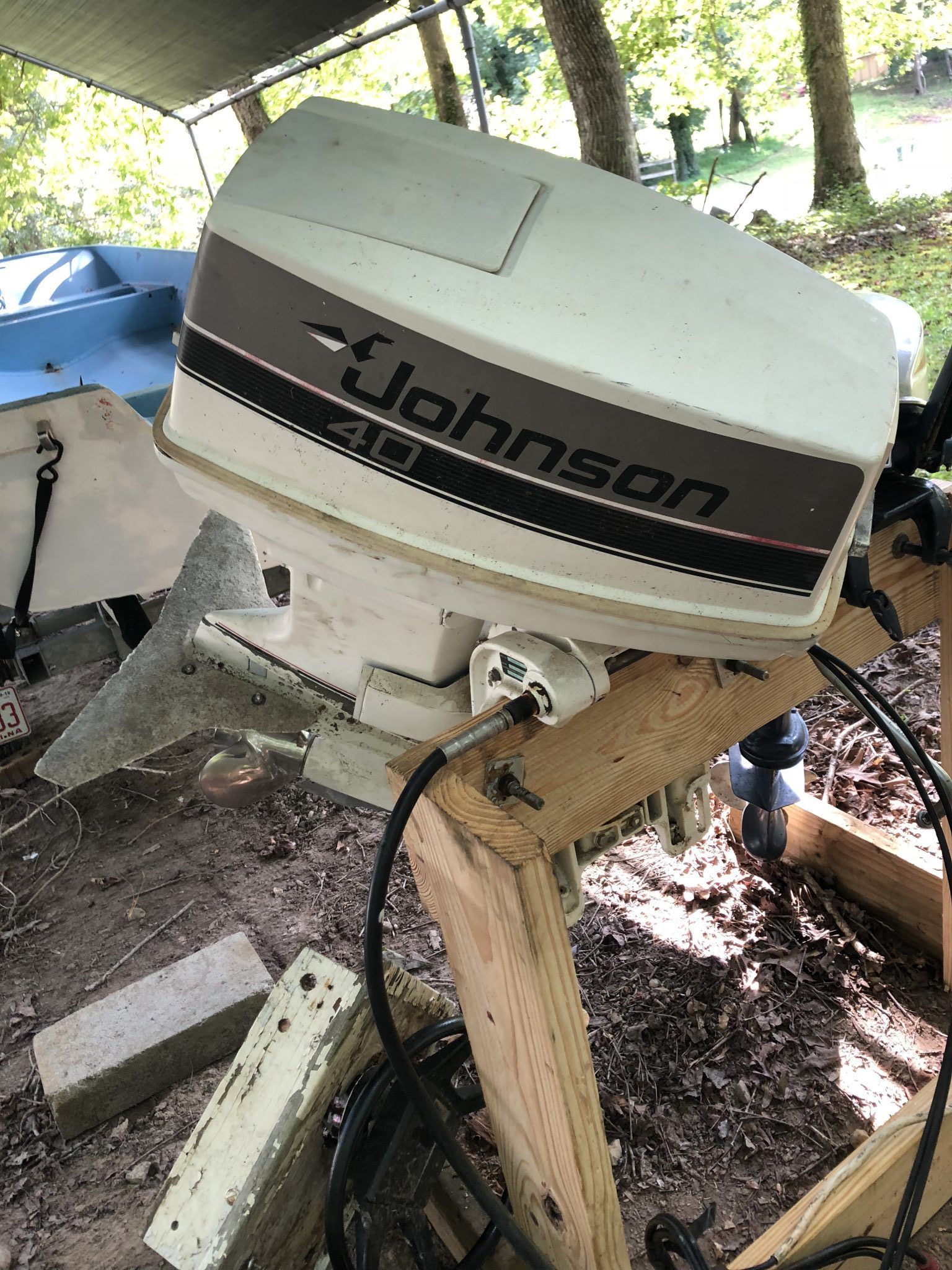How to Fix an Outboard Stuck Tilt Tube or Frozen Steering Rod