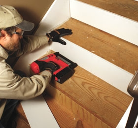 Remodel With Prefinished Stair Treads Extreme How To | Installing Hardwood Stairs Over Existing Stairs | Prefinished Stair | Stair Tread Caps | Carpeted Stairs | Wood Flooring | Treads