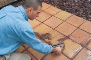 how to lay tile over concrete extreme