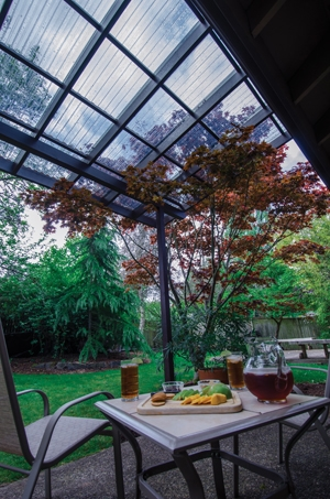 Building a Patio Cover for Wet Weather - Extreme How To on Patio Cover Ideas For Rain id=54244