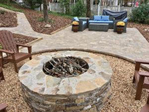 build a patio or walkway from pavers