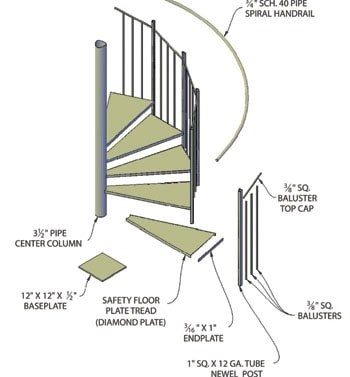 How To Build A Spiral Staircase Extreme How To | 9 Ft Spiral Staircase | Lowes | Toronto V3 | Lowes Com | Wood Treads | Basement Stairs