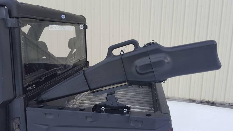 polaris ranger gun boot and rack