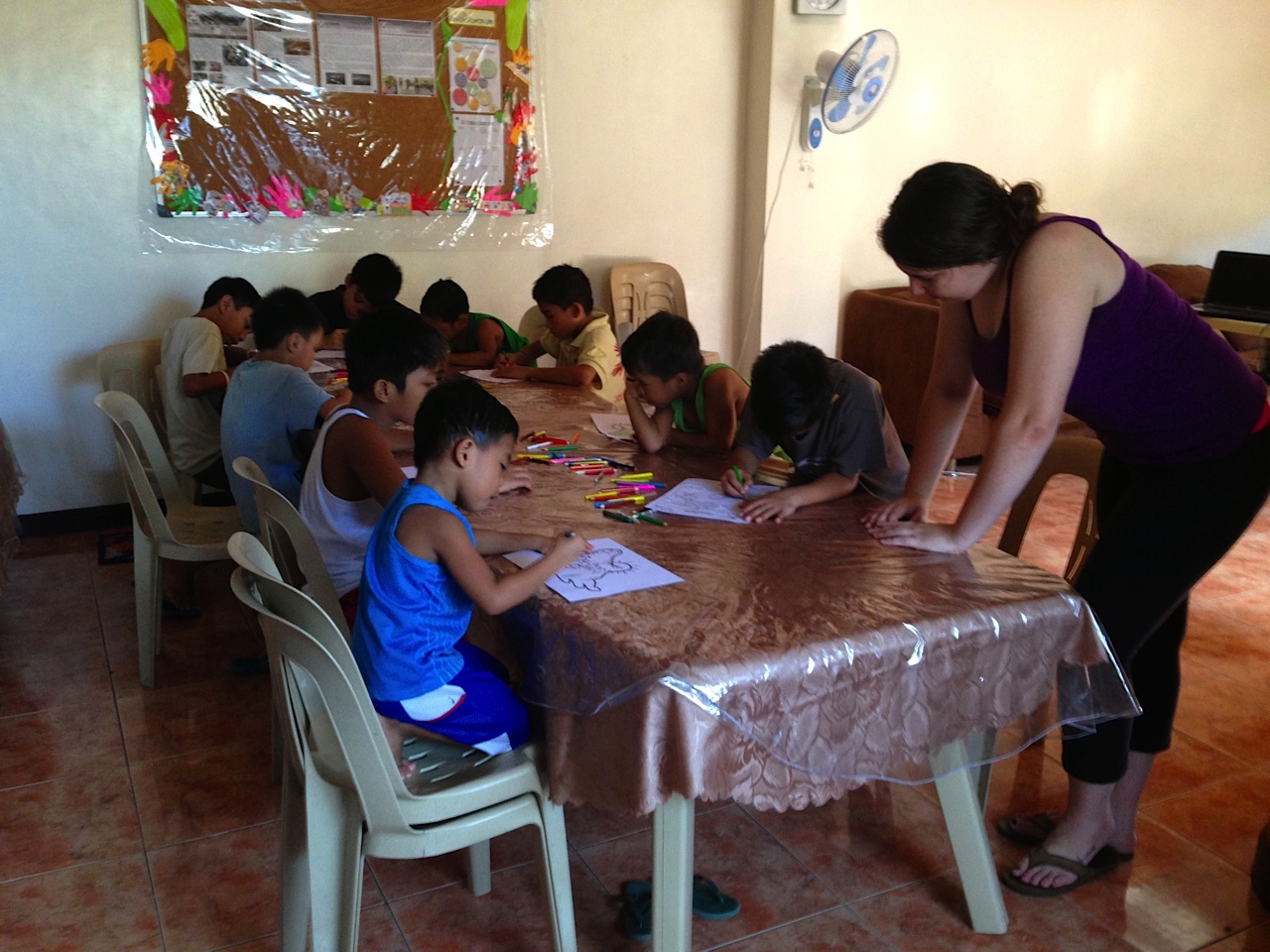 Amanda Moxley, Manila Children's Home