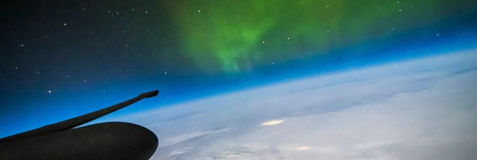 U-2 Northern Lights UFO