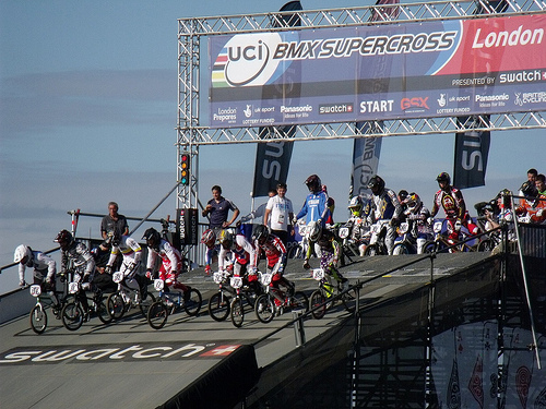 London Olympic BMX Races