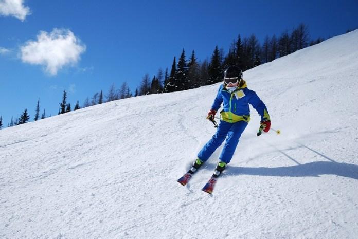 Preparing for Ski Season Skier on Slope