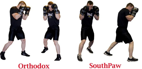 Boxing combinations and having a proper stance