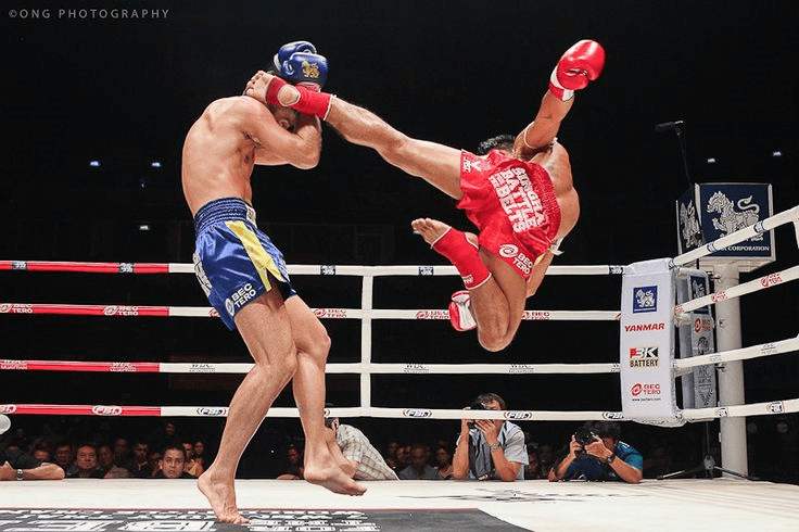 Muay Thai Combo Kicks