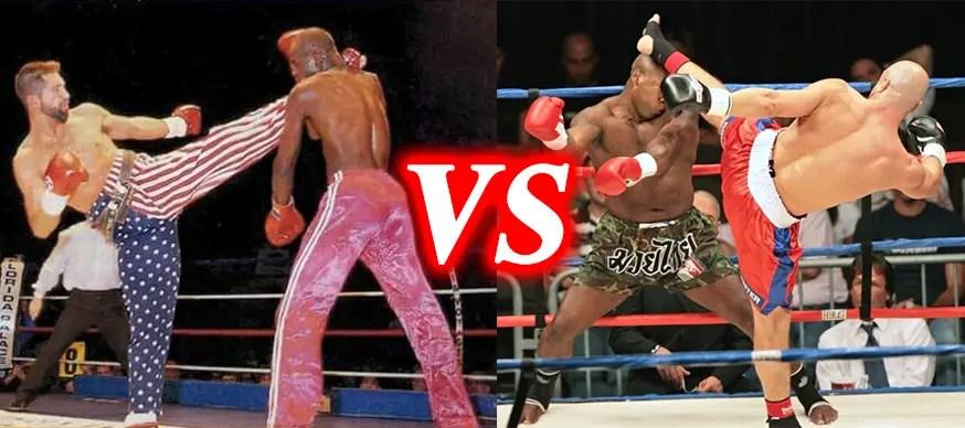 Kickboxing vs Muay Thai