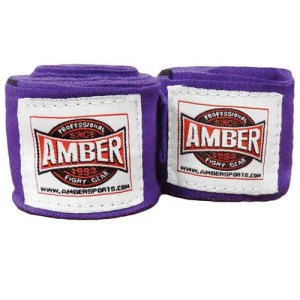 Amber Fight Gear Elastic Handwraps Mexican Style Elastic Handwraps