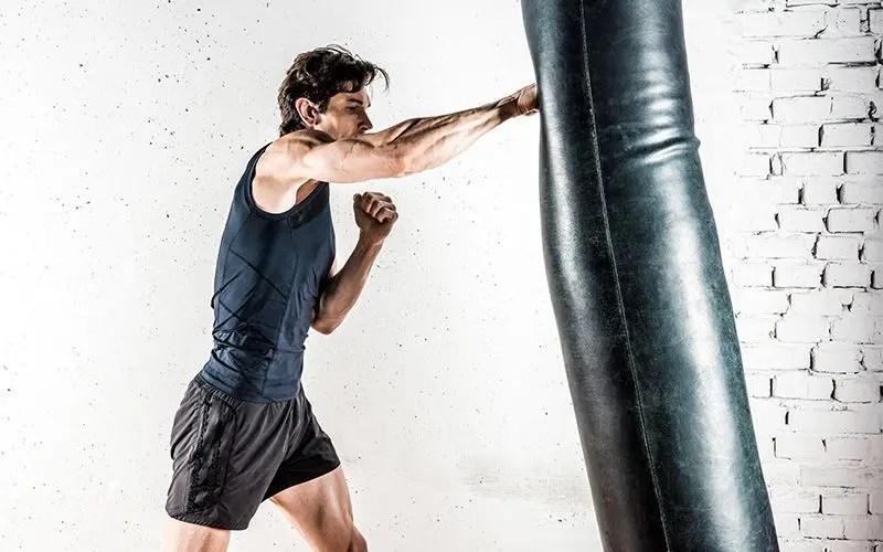 Muay Thai Banana Punching Kicking Heavy Bag 6ft tall 150lbs Unfilled top notch