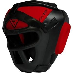 RDX Head Guard Maya Hide Leather Boxing Headgear