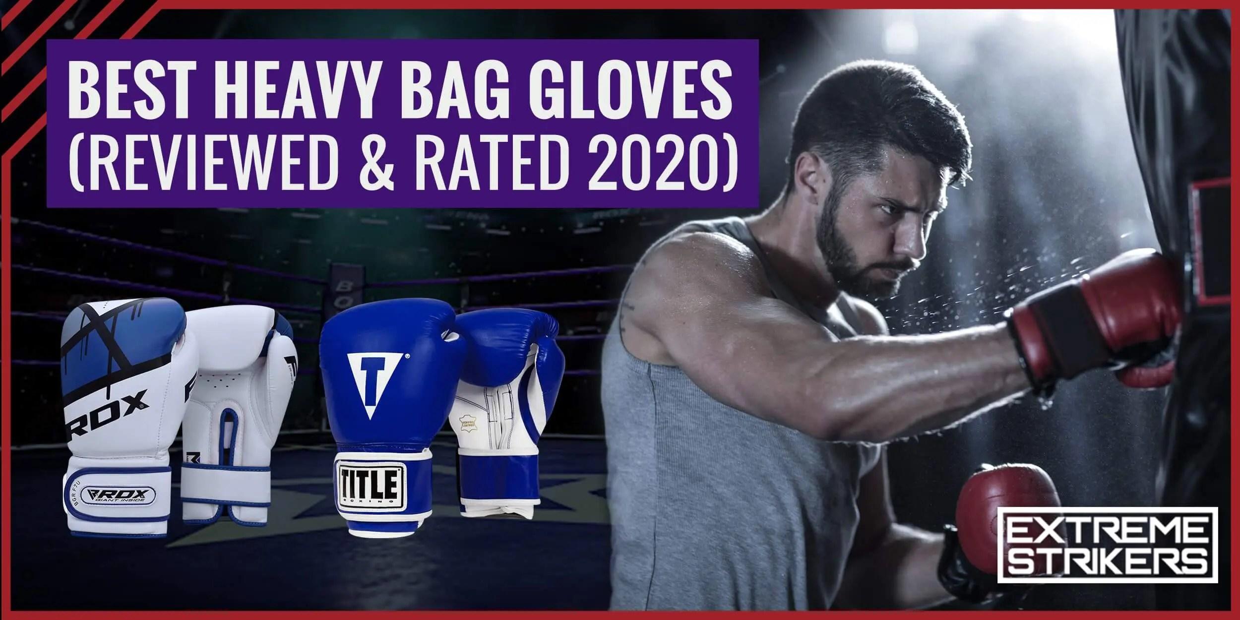 best bag gloves for boxing 2020