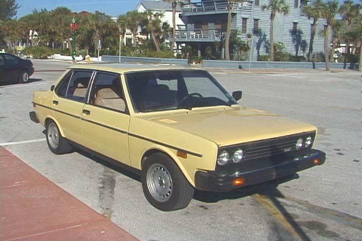 Fiat Brava 4D 1980