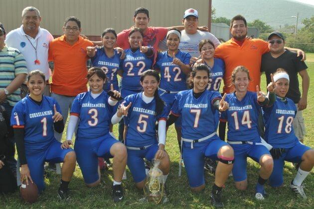 Las Campeonas de Tochito Bandera Femenil 2012 Correcaminos Sur