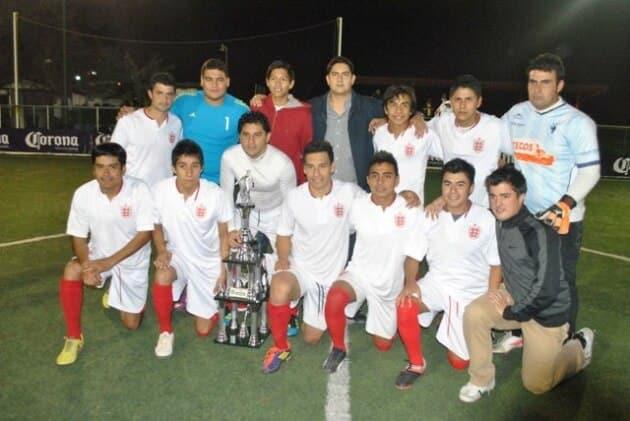 Banda Marvic Campeon de la Tercera edicion del Torneo Arena Fut-7