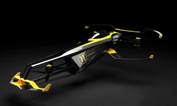 La empresa que busca revolucionar la F1… ¡Con un vehículo volador!