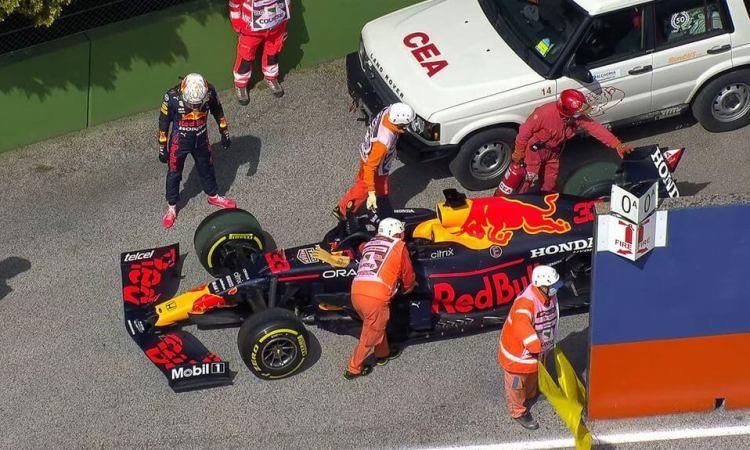 Ahora no fue Checo sino Verstappen; Mercedes vuelve a dominar en P2 del GP de Imola