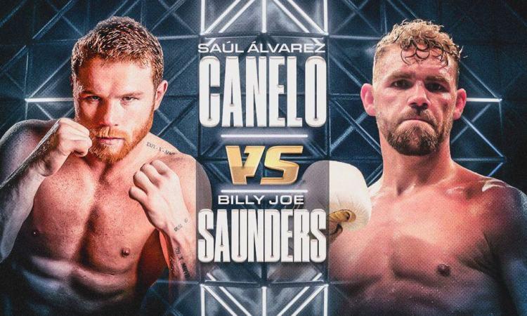 Canelo Álvarez vs Saunders: frente a frente