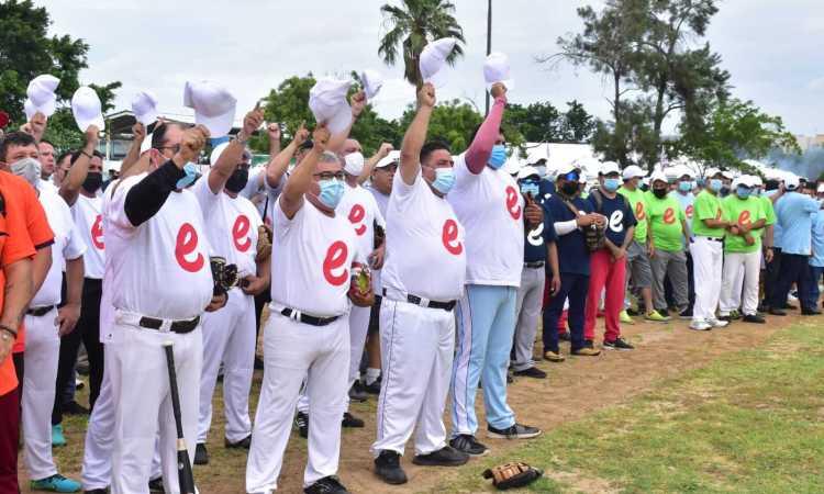 Se puso en marcha la Convivencia Deportiva del Día del Padre Petrolero