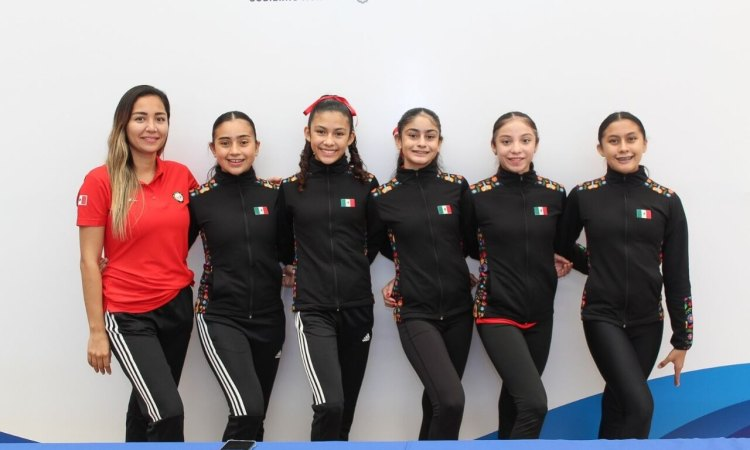 Parten tamaulipecas de gimnasia rítmica a gira de preparación por Europa