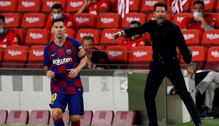Cholo Simeone intentó fichar a la pulga por medio de Luis Suárez