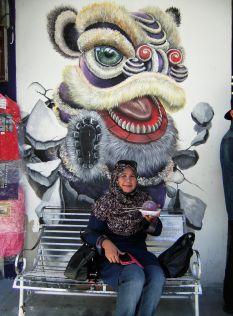 Grafiti en Georgetown, Penang