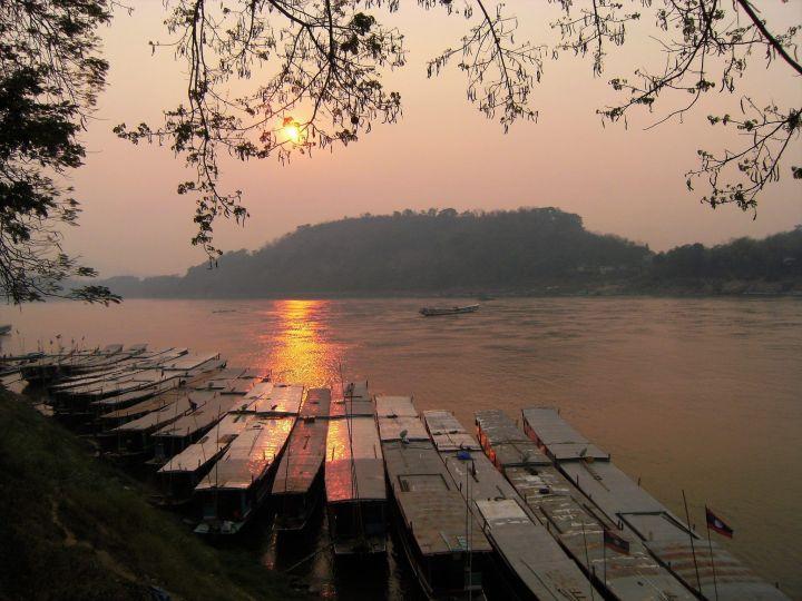 Río Nam Ou, Laos