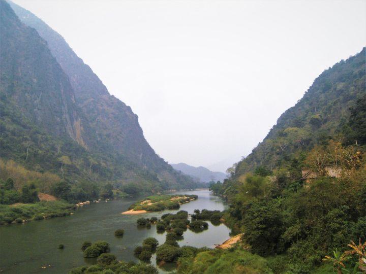 Valle en Nong Khiaw, Laos