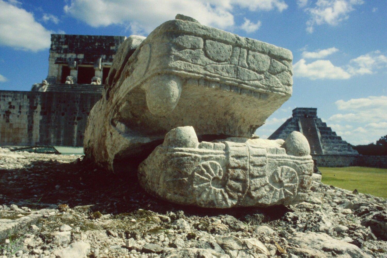 Cabeza de Kukulkán