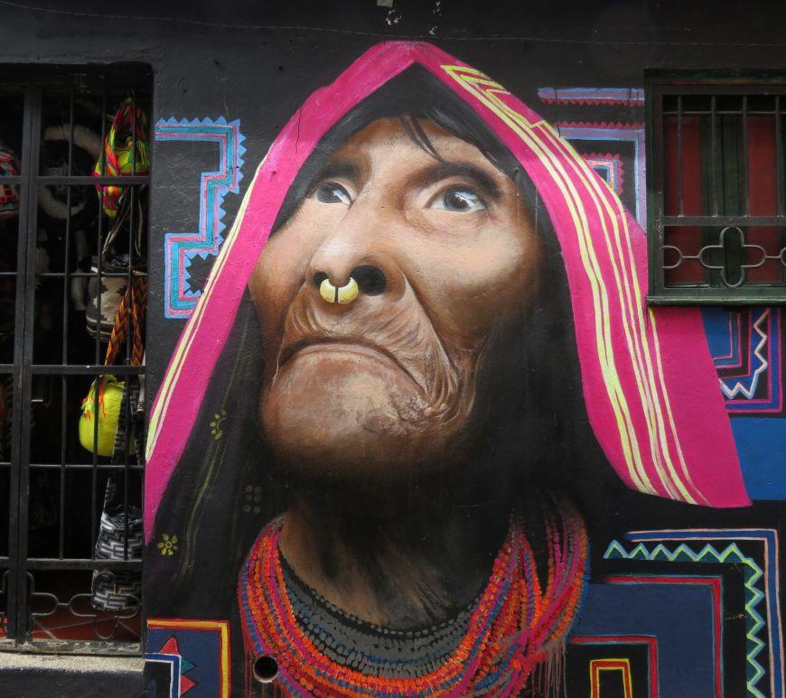 Arte en la calle Bogotá