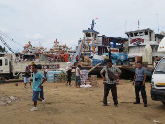 Puerto pesquero de Iquitos