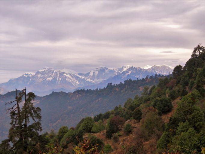 Panorámica de los Annapurnas