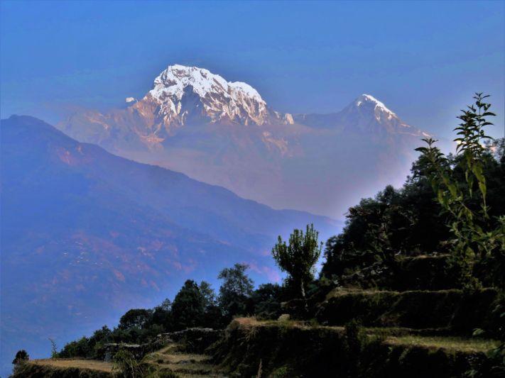 Annapurna Sur, Himalaya, Nepal